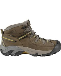 Keen Targhee II Mid Wide - Black Olive/Yellow