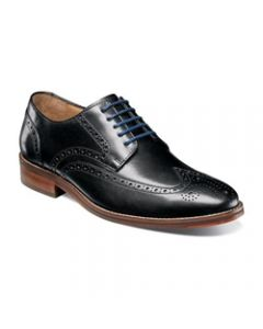 Florsheim Salerno Wingtip Oxford - Black