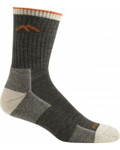 Darn Tough Hiker Micro Crew Cushion Socks - Olive - Single Pair