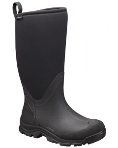 Columbia Mens Bugaboot Neo Tall Omni-Heat Pull-On Rain Boot - Black Charcoal