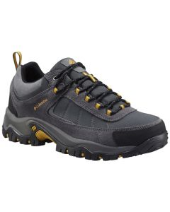 Columbia Men's Granite Ridge Waterproof - Wide - Dark Grey/Golden Yellow