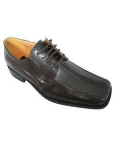Zota Oxford Square Toe Brown