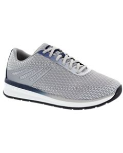 Drew Shoe Thrust - Grey/Navy Mesh