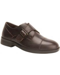 Drew Shoe Canton Velcro® Dress Shoe - Dark Brown