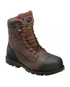 "Avenger 7573 Men's 8"" Insulated Waterproof Composite Toe Work Boot"