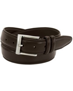 Florsheim 1136 - 32mm Pebble Grain Leather Dress Belt - Brown