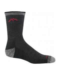 Darn Tough Hiker Micro Crew Cushion Socks - Black  - Single Pair