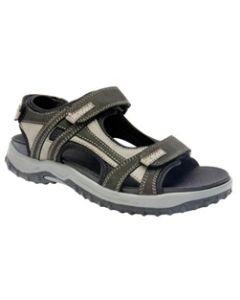Drew Shoe Warren - Black / Grey Nubuck