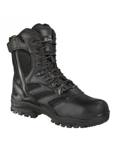 "Thorogood 8"" Waterproof Side Zip - Composite Safety Toe"