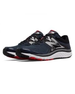 New Balance 940v3 Men's Running Shoe - Black with Red & Silver