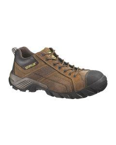 CAT Argon Composite Toe Work Shoes - Brown