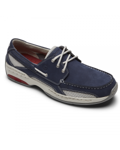 Dunham Captain - Navy Black Boat Shoes
