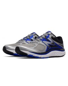New Balance 940v3 Men's Running Shoe - Silver with Blue & Black
