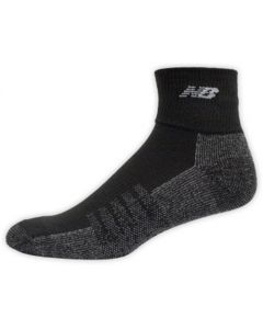 New Balance Technical Elite Quarter Socks - Black - 2-pack