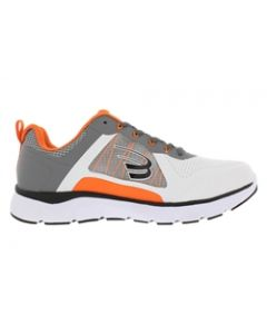 Spira Men's CloudWalker - White / Dark Grey / Orange