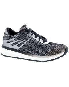 Drew Shoe Thrust - Black/Grey Mesh