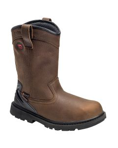 "Avenger 7676 Hammer Wellington 11"" Soft Toe Work Boot"