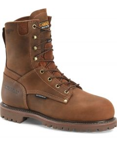 """Carolina Men's 8"""" Waterproof 800G Insulated Composite Toe Grizzly Boot - CA9528"""