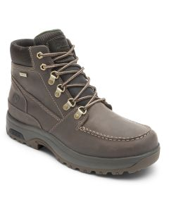 """Dunham 8000 Works 6"""" Soft Mocassin Toe Boot - Brown Leather"""