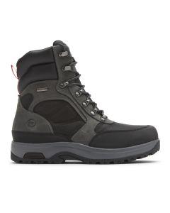 "Dunham 8000 Works 8"" Ubal Side-Zip 400g Insulated Boot"