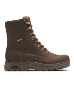 "Dunham 8000 Works 8"" 400g Insulated Boot - Brown Leather"