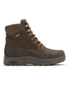 "Dunham 8000 Works 6"" Soft Toe Boot - Brown Leather"