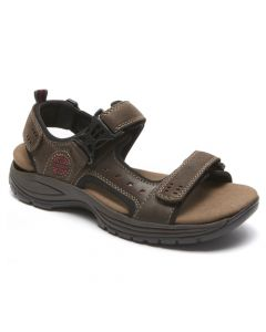 Dunham Nolan Adjustable Strap Sandals - Brown