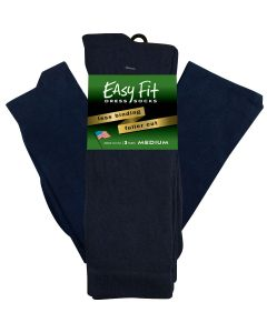 Easy Fit Dress Sock - Navy - 3 pack