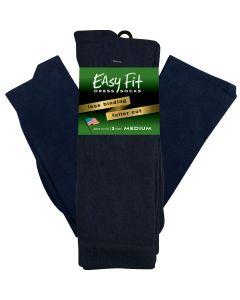 Easy Fit Dress Sock - Navy - 3 pack