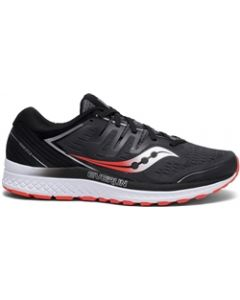 Saucony Everun Guide ISO 2 Men's Running Shoe - Black / Grey