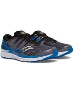 Saucony Everun Guide ISO 2 Men's Running Shoe - Slate / Blue