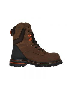"Hoss Carson 8"" Brown Composite Toe Non Waterproof"