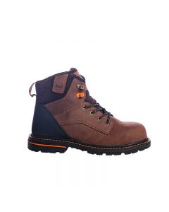 "Hoss Carson 6"" Brown Non-Safety/Soft Toe Non Waterproof"