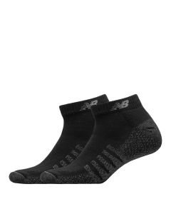Mens Cushioned Low Cut Socks - Black