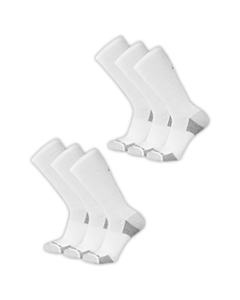 New Balance  Cushioned Crew Socks - White - 6-pack