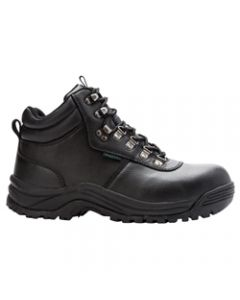Propet Shield Walker Composite Toe Work Boot - Black