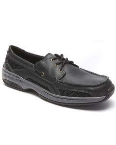 Dunham Captain - Black Boat Shoes