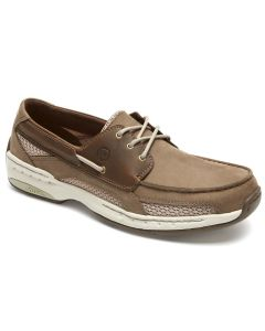 Dunham Captain - Taupe Boat Shoes