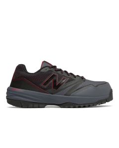 New Balance Composite Toe 589 Athletic Work Shoes - Black with Red
