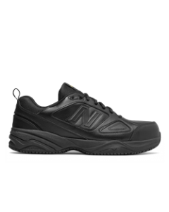 New Balance Steel Toe 627v2 Athletic Work Shoes - Black