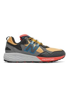 New Balance Fresh Foam Crag v2 Trail Running - Gold / Black / Toro Red /Neo Classic Blue