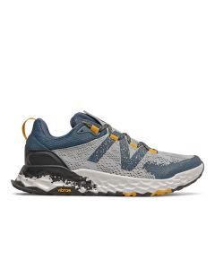 New Balance Hierro v5 Men's Running Shoe - Light Aluminum / Chromatic Yellow