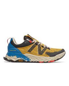 New Balance Hierro v5 Men's Running Shoe - Varsity Gold/Neo Classic Blue