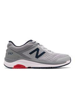 New Balance 847v4 Mens Walking Shoe - Silver Mink