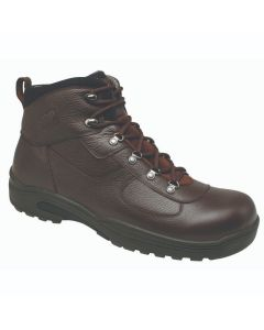 Drew Shoe Rockford - Dark Brown Tumbled Leather