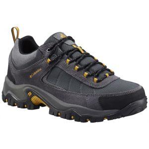 Columbia Men's Granite Ridge Waterproof - Dark Grey/Golden Yellow