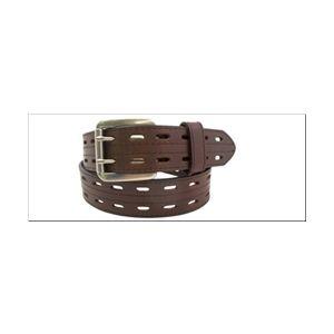 Danbury 38mm Genuine Leather Casual Belt - Brown
