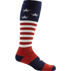 Darn Tough Captain Stripe Over-the-Calf Cushion Socks - Single Pair