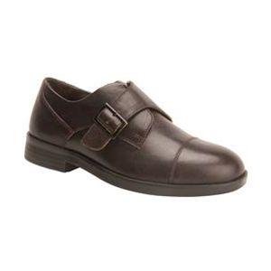 Drew Shoe Canton Velcro® Dress Shoe - Dark Brown
