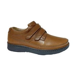 Drew Shoe Mansfield Velcro® Closure Dress Shoes - Dark Brown